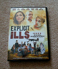 """EXPLICIT ILLS"" Movie starring Paul Dano & Rosario Dawson on DVD"