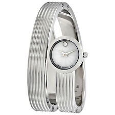 Movado Museum Wrap Mother of Pearl Dial Ladies Watch 0606805
