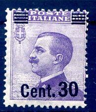 REGNO 1924  - SOPRASTAMPATI -  Cent. 30 su 50    -  NUOVO  **