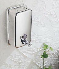 Wall Mounted Stainless Steel Square Bath & Kitchen Liquid Soap Dispenser 500ML