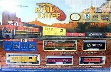 Complete Train Set Bachmann HO Scale Rail Chief Model Railroad Layout BNSF