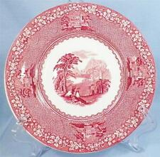 Jenny Lind Bread & Butter Plate Royal Staffordshire Pink Transfer Ware GOOD COND