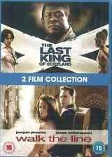 The Last King of Scotland & Walk The Line, DVD, 2 In 1