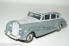 DINKY TOYS 150 ROLLS ROYCE SILVER WRAITH EXCELLENT CONDITION