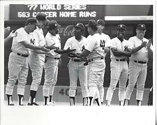 Vintage New York Yankee Old Timers Game Photo Lyle Pinella +++++