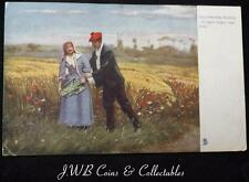 "Old Postcard Illustrated Songs. ""Comin Thro The Rye"" 1905"