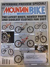 Mountain Bike Action Magazine November 2006 Intense 6.6 Magura Marta SL Connonda