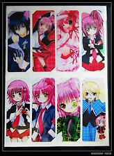 Shugo Chara Manga Anime Lot De 8 Marque Pages(D)しゅごキャラ!