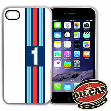 martini g1 jazz racing stripes Iphone compatible cover, fits the Iphone 5s / 5
