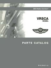 2003 Harley VRSC VRSCA VROD V-ROD Part Parts Catalog Manual Book 99457-03