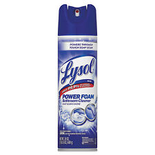 Lysol Power Foam Bathroom Cleaner 24oz Aerosol 02569