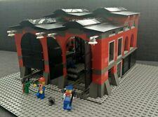 Lego 10027 World City Lokschuppen mit Werkstatt mit Bauanleitung