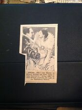 Ephemera 1934 Picture Ian Hunter Isabel Jeans Spring 1600 Film