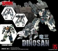 SALE $5 OFF - Transformers Fansproject SAURUS RYU-OH Combiner Dinosan MISB