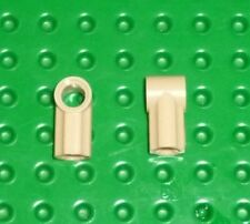 LEGO - TECHNIC - AXLE & PIN CONNECTORS ANGLED #1 TAN x 4 (32013) TK206