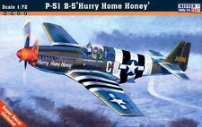 P 51 B-5 MUSTANG 'HURRY HOME HONEY' (USAAF ACES MARKINGS) 1/72 MISTERCRAFT
