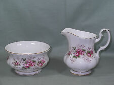 Royal Albert Lavender Rose Milk Jug & Sugar Bowl