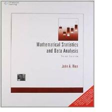Mathematical Statistics and Data Analysis by John A. Rice (2006, Softcover)