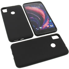 Case For HTC Desire 10 Pro Mobile Phone protector cover TPU Rubber Black