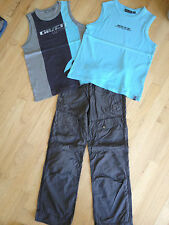 3pc MEXX lot: 2 tank shirts and one ankle pant, size EUR 152 / US 12