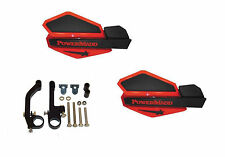 Powermadd Star Series Handguards Guards Red / Black Snowmobile Ski Doo Summit