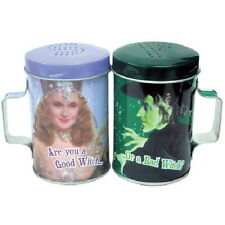 The Wizard of Oz Are You A Good Witch or A Bad Witch? Tin Salt & Pepper Set NEW