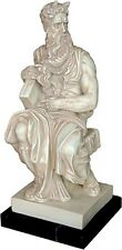 Moses for Tomb of Julius II by Michelangelo Statue Replica 11H T-013SM