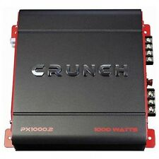 Crunch PX 1000.2 POWERX Amp, Class AB, 2 Channels, 1,000 Watts Max BOOST SOUND!!