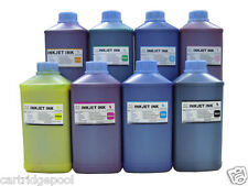 8 Quart Pigment refill ink for Epson Stylus Pro GS6000 T624 (C,M,Y,K,LC,LM,G,O)