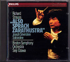Seiji OZAWA: Richard STRAUSS Also sprah Zarathustra CD Boston Symphony Orchestra