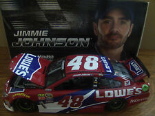 NEW Jimmie Johnson 2016 Lowes Red Vest Chevy SS 1/24 NASCAR