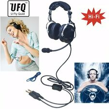 NEW UFQ  PNR aviation headset TOP sky studio bose quality Hi-Fi speakers music