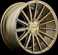 Niche Form M158 19X8.5 5X112 Et42 Bronze Rims (Set of 4)