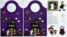 Halloween Fabric - Make Your Own Trick or Treat Bag. 100% Cotton Fabric