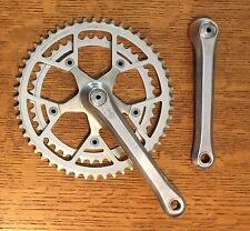1984 Campagnolo Triomphe Victory Crankset 52/42 170mm w Dust Caps