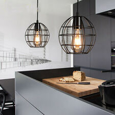 Modern Metal Cover Industrial DIY Ceiling Lamp Light Pendant Edison Chandelier