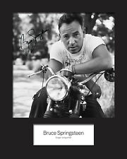 BRUCE SPRINGSTEEN #2 Signed Photo Print 10x8 Mounted Photo Print - FREE DELIVERY