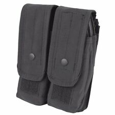 Condor MA6 BLACK Double Rifle Mag Pouch MOLLE 4x 5.56mm 7.62mm Magazine