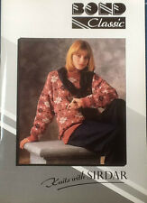 Knits with SIRDAR  Bond Classic / USM / Ultimate Sweater Machine Pattern Book