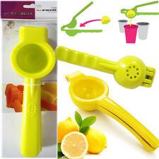 Lemon Squeezer Citrus Lime Press Juicer Solid Plastic Extractor Hand Kitchen