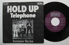 "7"" Hold Up ‎– Telephone / Summer On Ice - VG++ Long Cool Johnny Van Holme"