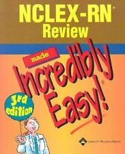 NCLEX-RN Review Made Incredibly Easy! (Nclexrn Review Made Incredibly Easy)