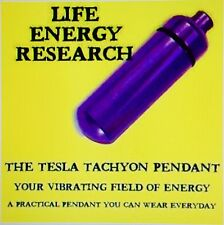 TESLA TACHYON PENDANT ADVANCED STRENGTHEN ENERGY SHIELD