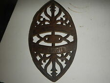 Simmons Special  Cast Iron Sad Iron Trivet