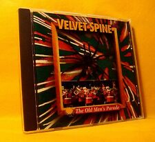 CD Velvet Spine The Old Men's Parade 15TR 1996 Belgian Pop Rock