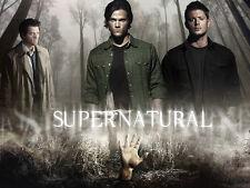 "Supernatural - US TV Show Season Art Fabric poster 32"" x 24"" Decor 101"