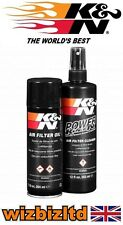 Motorcycle K&N Air Filter Cleaner and Recharger Service Kit (Aerosol) KN995000