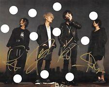 ONE OK ROCK SIGNED BAND PREPRINT PHOTO 35xxxv Jinsei×Boku=  Zankyo Reference  CD