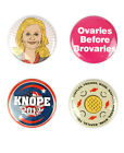 Leslie Knope Button Set! Parks and Recreation, Amy Poehler, Knope 2012, Overies