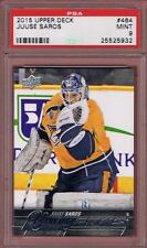 2015-16 UPPER DECK JUUSE SAROS YOUNG GUNS ROOKIE #464 PSA 9 MINT RC UD YG 15-16